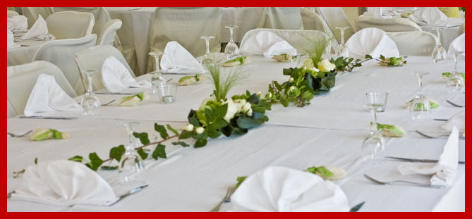 Fleurs mariage nice for Chemin de table boutis